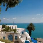 Meerblick-Tunesien
