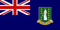 Britische Jungferninseln Flagge